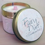 Lilly Flame Candle Fairy Dust