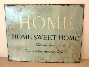 home sign