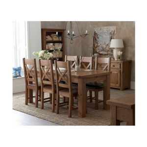 Royal oak Farm House Dining Table and Chairs