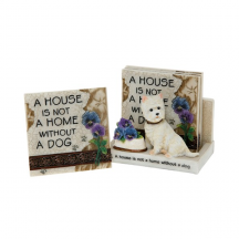 Sweet Coasters A Home is Not a Home Without A Dog