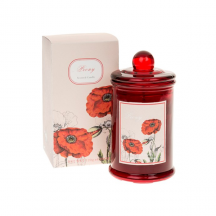 Beautiful Poppy Jar Candle