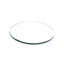 Round Mirrored Candle Plate Base 13 Inch Wedding Centre Piece