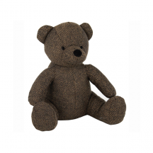 Sweet Sitting Brown Teddy Bear Doorstop
